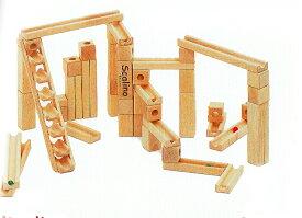 スカリーノ3【遊び方説明書付き】積み木【送料無料】木のおもちゃ・玉の塔