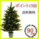 クリスマスツリー90cm  RS GLOBAL TRADE社(PLASTIFLOR社)【送料無料】