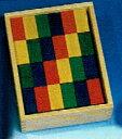 積み木  ウールレンガ・ベーシック カラー 色付き デュシマ社 木のおもちゃ つみき 積木