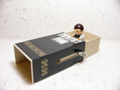 Wポップオルゴール・ピアノを弾く男の子【あす楽対応】【送料無料】