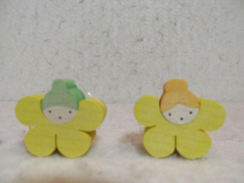小黒三郎・ウマノアシガタの花びな