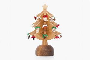 オルゴールツリー・プチ・ナチュラル【We wish you a merry christmas】  オークヴィレッジ【OakVillage】【送料無料】
