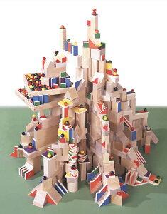 積木のいろは45(積み木のいろは45)遊び方DVD付き WAKU 童具館