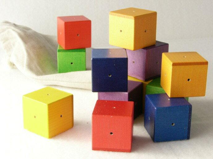 ベビーキューブ ジーナ社 木のおもちゃ ご出産祝 送料無料 ベビー積木