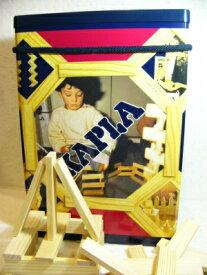 【今すぐクーポンが使える】カプラ200(KAPLA)絵本「カプラの魔法」とカラーカプラ6枚付き ラッピング無料 知育玩具 積み木 木のおもちゃ ギフト お祝い KAPLA 魔法の板 2歳 3歳 4歳 5歳