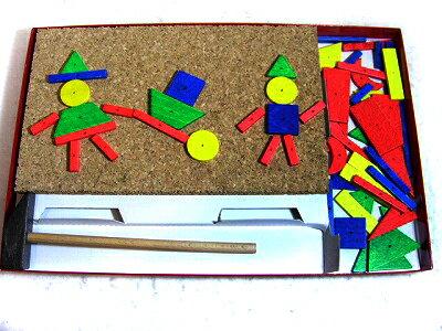 小さな大工さん【あす楽対応】【送料無料】ラッピング無料 木のおもちゃ  お誕生日 ギフト 4歳 5歳 6歳