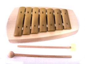 アウリスグロッケンNEW・ペンタトニック7音(シェルズグロッケン)鉄琴 スウェーデン 楽器 1歳 2歳 3歳 プレゼント 合奏