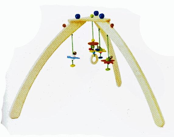【送料無料】ベビージム・ステリーノ(組立式) ご出産祝い 木のおもちゃ ラッピング無料