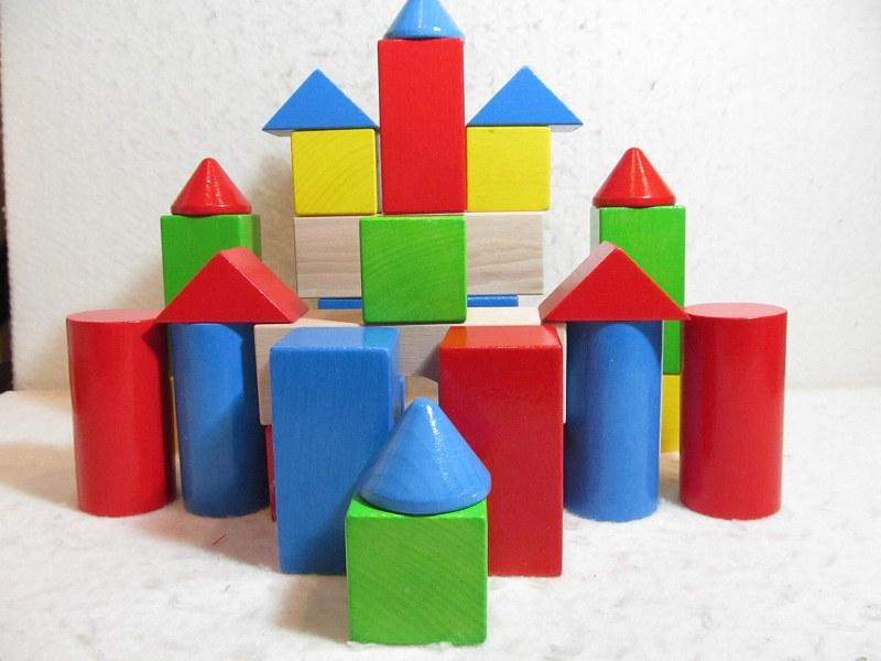 積み木 HABAブロックス・カラー(遊び方説明書付き)ハバ社 木のおもちゃ【送料無料】出産祝い ギフト