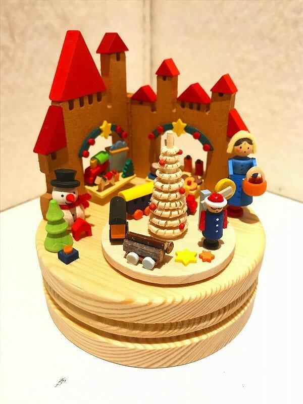 【送料無料】グラウプナー工房・オルゴール・おもちゃのクリスマスマーケット エルツ地方 ザイフェン