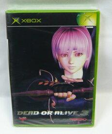【新品】XBOXソフト「DEAD OR ALIVE3」デッドオアアライブ3