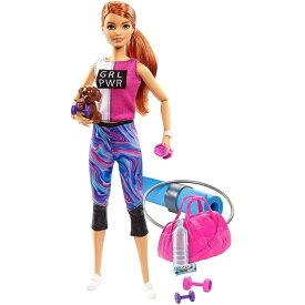 マテル Mattel バービー フィットネスセット