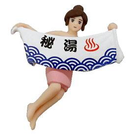 【中古】 あすなろ舎 コップのフチ子 温泉2(セカンド) 03.秘湯のフチ子