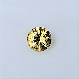 【新入荷】【宝石・ルース】ゴールデン・ジルコン Golden Zircon 0.88ct 黄金色 風信子石【レアストーン】【送料無料】5600 ダイヤモンド類似石 希少石 天然石 パワーストーン