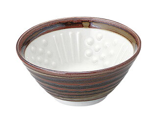 さび巻 納豆鉢(小)/ねり鉢/凸凹でふっくら/より美味しく/健康志向/鉢/美濃焼/日本製/