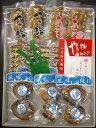 歳月9袋(いかだ焼2串、酒蒸し蛤2×3袋、焼蛤2串、あさり4串)【いかだ焼本舗 正上】