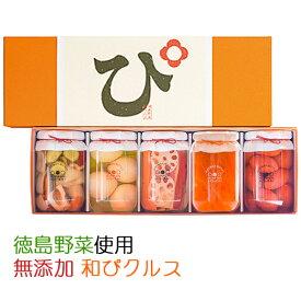 国産・無添加 素材を極めた和ピクルス「徳島ぴクルス」5種セット エイブルフーズ【お中元のし対応可】
