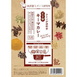 クミンが決め手 ピリ辛キーマカレー 6人前(3人前×2) 新感覚カレー粉 オールインワンスパイスカレー