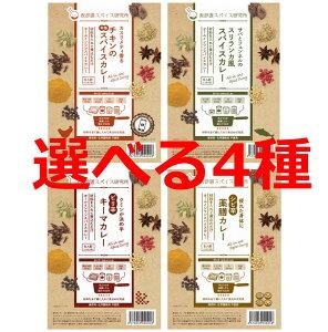 【選べる4種セット】オールインワンスパイスカレー選べる4種類セット 24人前(3人前×2袋×4種類)
