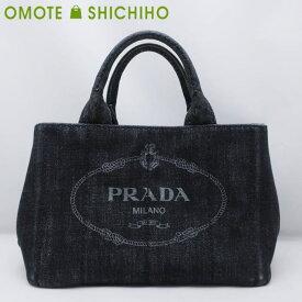 【中古】【001】PRADA プラダ カナパ 2WAYトートバッグ ショルダーバッグ デニム B2439G レディース メンズ