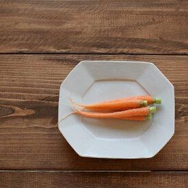 九谷青窯 白磁 八角長皿(中)九谷焼 青窯 隅切り長皿 せいよう 白い ワンプレート ランチ 中皿 和食 和食器 そうめん皿 カフェ 和モダン 食器 おしゃれ かわいい 日本製 シンプル 皿 パーティー おかず 食卓 プレゼント ギフト 白 陶磁器 平皿 焼き物 陶磁器 八角皿 八角形
