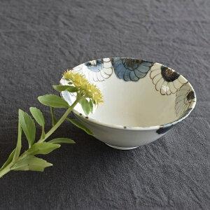 九谷青窯 花尽くし 4.5寸鉢 高原真由美 せいよう 青釜 作家 和食