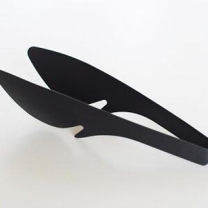 FDSTYLE テーブルトング 万能タイプつかみやすいコンパクトなテーブルトング おしゃれ 置ける FDスタイル シンプル デザイン パスタ サラダ とりわけ エフディー シック かっこいい
