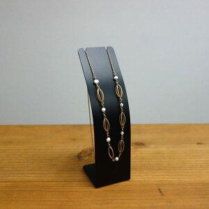 プレート型アイアンネックレススタンド:スチール製のシンプルなアクセサリースタンド アクセサリー ペンダント ネックレス 黒塗装 雑貨 おしゃれ かわいい ディスプレイ用品 小物 店舗什