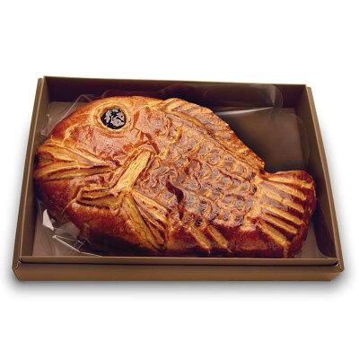 <パティシエ・シマ>『めでたいパイ』鯛の姿の大っきなアップルパイ!ウェディングや出産祝、オープニングパーティーにも人気!