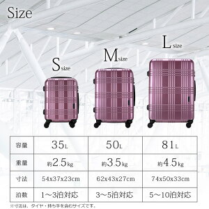 2aa6b316bd スーツケースMサイズタイヤロック付き日本製HINOMOTOダブルキャスター超軽量ビジネス出張