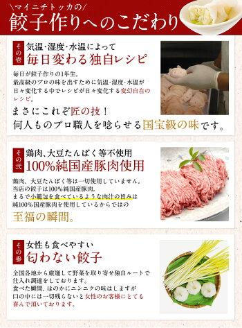 【送料無料】国産野菜・国産豚肉使用!奇跡の一粒「べっぴん」餃子大阪のおかん絶賛の水餃子