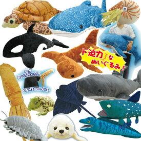 海の生き物 ジャンボ BIG 大きい ぬいぐるみ インスタ映え間違いなし pzym2-05【P】