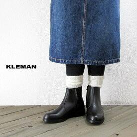 KLEMAN クレマン レディース ONAGRE レザー ジップアップ ショートブーツ*送料無料*《即日発送》【YDKG-ms】【smtb-MS】【あす楽対応】