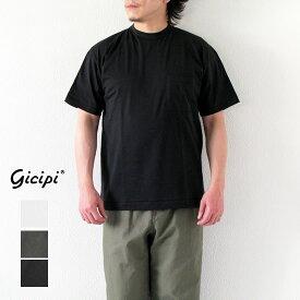 GICIPI ジチピ メンズ クルーネック リラックスフィット ポケット付きTシャツ GRANCHIO(グラーンキオ) 2105P*送料無料・メール便発送*《即日発送》【YDKG-ms】
