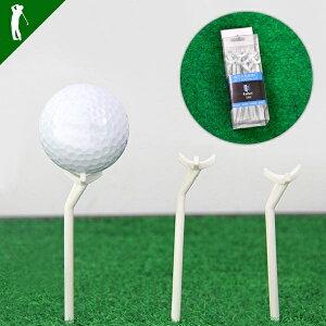 ゴルフ ティ ティペグ 斜め 斜め型ティ 12本 小物 TEE 低スピン 飛距離up 飛距離アップ メンズ golf斜め型ティー 12本入り(IF-GF0153)