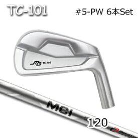 三浦技研(アイアン6本セット#5-PW)TC-101 + MCI 120(フジクラ)キャビティアイアン ミウラクラフトマンワールド ヘッドカスタム注文可能 Miura Golf