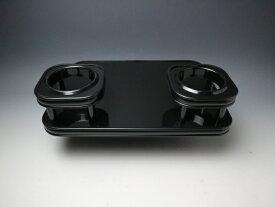 【売り切り お買い得】N BOX JF3(17/9〜) フロントテーブル2 ブラック オールブラック