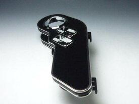 【売り切り! お買い得】64系エブリィ サイドテーブル運転席側 ブラック BKxシルバー