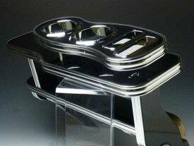 【売り切り! お買い得】NV350キャラバン フロントテーブル Sライン ブラック BKxフルメッキ