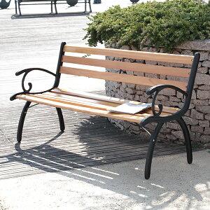 【送料無料】ガーデン パークベンチ ベンチ シンプル 屋外イス 屋外ベンチ 腰かけ 椅子 ガーデニング 庭 ガーデンベンチ アウトドアベンチ ガーデンファニチャー 長椅子 アイアン 公園用ベ