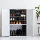 【送料無料】一家に一台!大人気シューズボックスクイッカー下駄箱シューズBOXシューズボックス靴箱靴入れ靴収納玄関玄関収納コンパクト省スペース木製大量通気性抜群