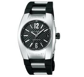 BVLGARI [ブルガリ] 腕時計 エルゴン カーボンブラック文字盤 自動巻 デイト EG35BSVD 並行輸入品 ブラック [並行輸入品]