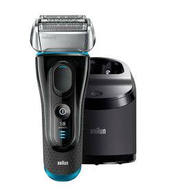 ブラウン シリーズ5 メンズ電気シェーバー 5190cc 4カットシステム 洗浄機付 水洗い可 BRAUN