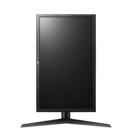 LG ゲーミング モニター ディスプレイ 24GL650-B 23.6インチ/1ms,144Hz/フルHD/TN非光沢/FreeSync/HDMI×2,DisplayPort/ピボット、高さ調節対応