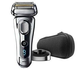 ブラウン メンズ電気シェーバー シリーズ9 9293s 5カットシステム 密着3Dヘッド 人工知能 自動調整 水洗い お風呂剃り可 シルバー