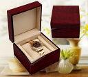 腕時計ケース 収納ケース ウォッチボックス 木製 上品 腕時計 時計 ケース インテリア 展示 ディスプレイ コレクション 防塵