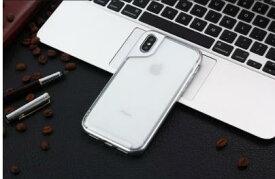 シルバー iPhone X ケース おしゃれ iPhone X カバー アイフォンXケース 透明PC+柔らかなTPU クリア 軽量 衝撃防止 擦り傷防止
