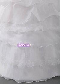 素敵な花嫁プリンセスウェディングドレス