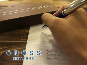 CROSS クロス CALAIS カレイボールペン ブルー AT0112-3(高級/ブランド/ギフト/プレゼント/就職祝い/入学祝い/男性/おしゃれ)【ネコポス不可】