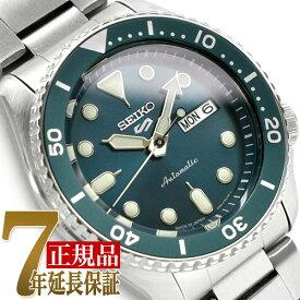 【正規品】セイコー5スポーツ スポーツスタイル SEIKO 5 Sports Sports Style 自動巻き 手巻き付き メカニカル 機械式 腕時計 流通限定モデル ブルーグリーン ダイアル メタル ベルト SBSA011